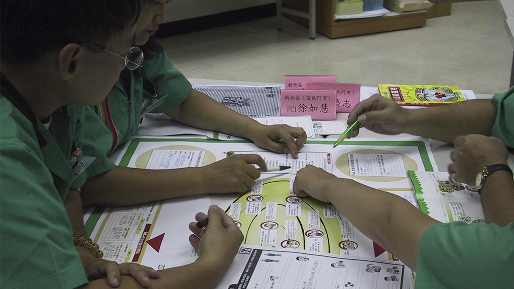 Bilde av dialogduk i gruppelæring - organisasjonsutvikling