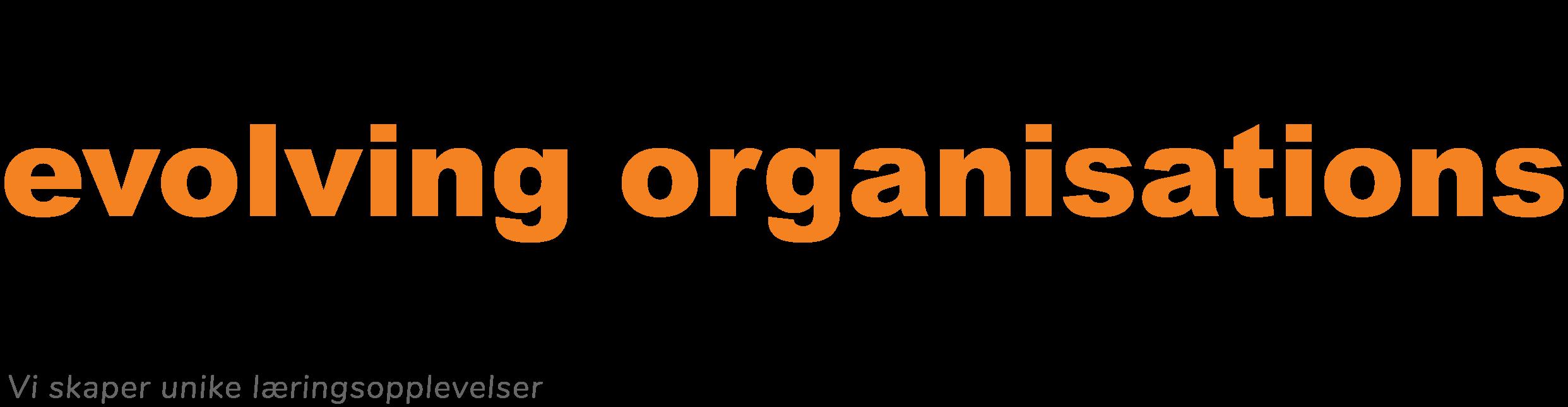 Involving people - evolving organisations. Vi skaper unike læringsopplevelser.